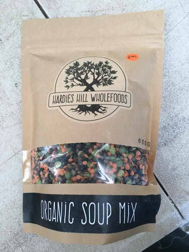 Hardies Hill Certified Organic Soup Mix