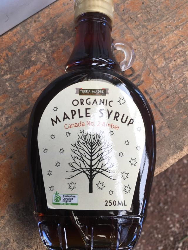 Organic Canadian Maple Syrup