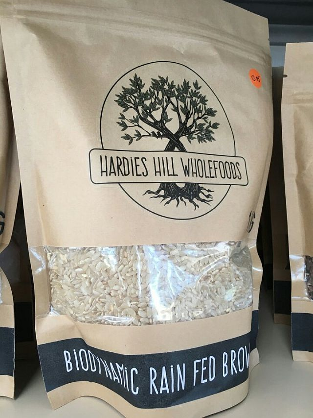 Biodynamic Rain Fed Brown Rice