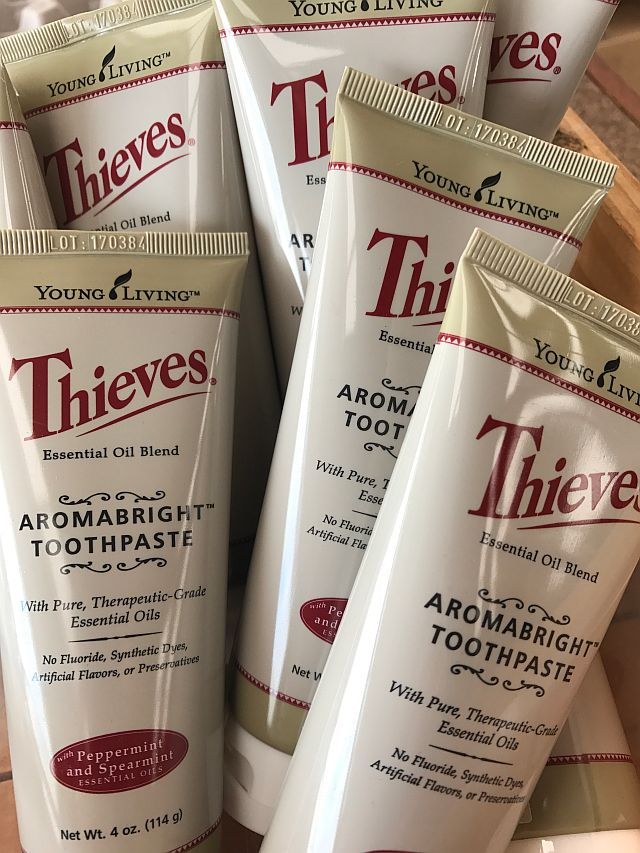Thieves Oil Natural Toothpaste
